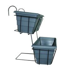 Kaskade stativ med altankasser